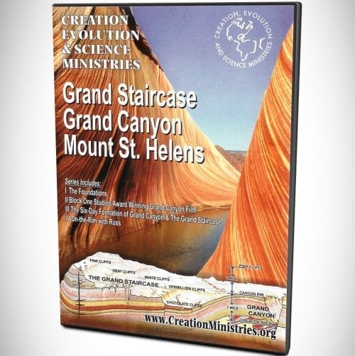 Grand Staircase, Grand Canyon, Mt St. Helens DVD