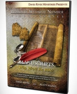 Manuscripts Who Wrote the Bible? DVD