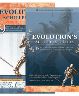 Evolution's Achilles' Heels Book and DVD Set