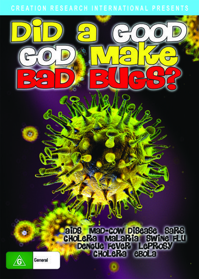 Did a Good God Make Bad Bugs? DVD