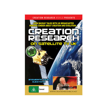Creation Research on Satellite TV UK DVD