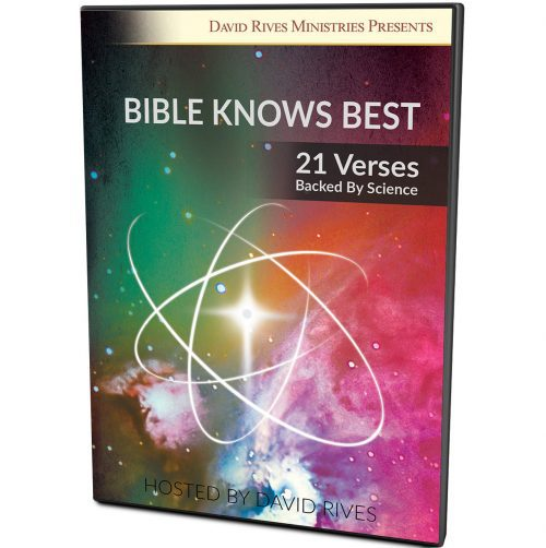 Bible Knows Best - 21 Verses Backed By Science DVD