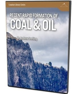 recent rapid formation of coal & oil