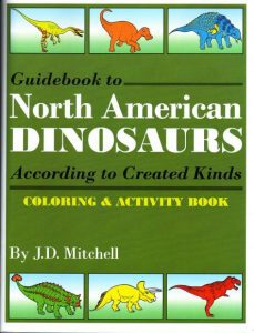 Guidebook to North American Dinosaurs Coloring & Activity Book