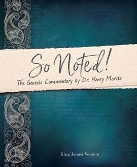 So Noted Henry Morris Genesis Commentary Book