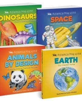 Science for Kids 4 Book Pack