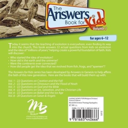 The Answers Book for Kids, Vol. 7 Back