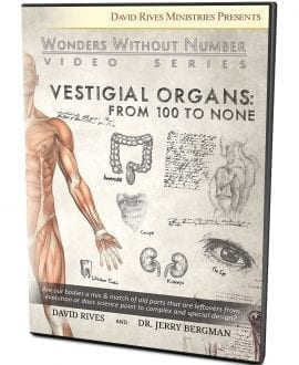 Vestigial Organs: From 100 to None DVD