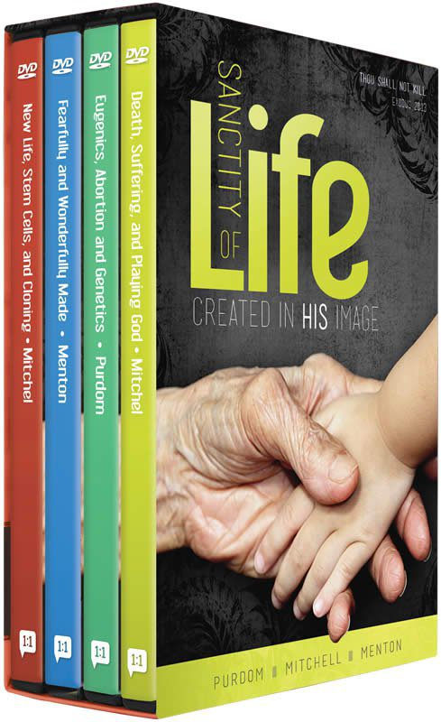 The Sanctity of Life - Created in His Image 4 DVD Series