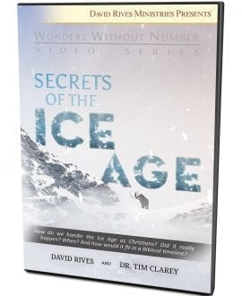 Secrets Of The Ice Age DVD