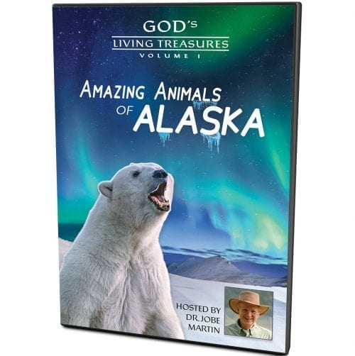 God's Living Treasures - Amazing Animals of Alaska DVD Vol. 1