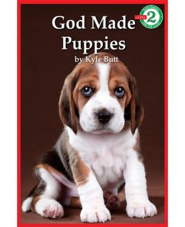 God Made Puppies Book