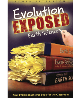 Evolution Exposed Earth Science Book