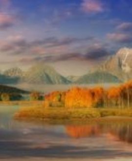 Sunrise in the Tetons Tim Janis- Blu-Ray DVD | Creation Scapes