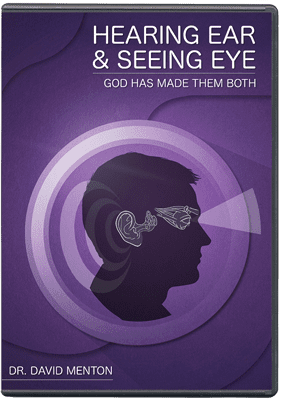 The Hearing Ear and the Seeing Eye- God Has Made Both DVD   AIG