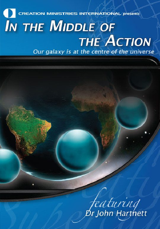 In the Middle of the Action - Our Galaxy is at the Centre of the Universe DVD   CMI