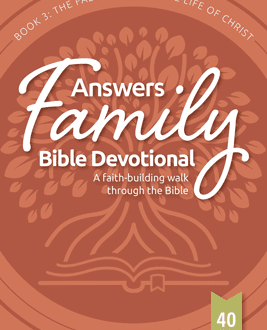 Answers Family Bible Devotional Book 3: Isaiah-Christ | AIG