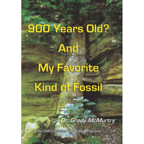 900 Years Old? And My Favorite Kind of Fossil - DVD | CWV