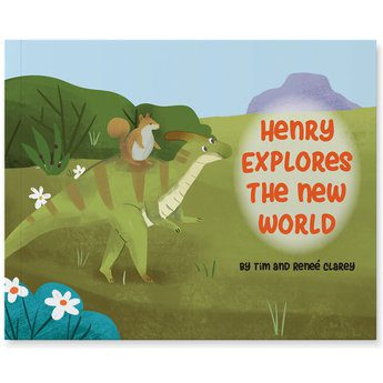 Henry Explores The New World - Book   ICR